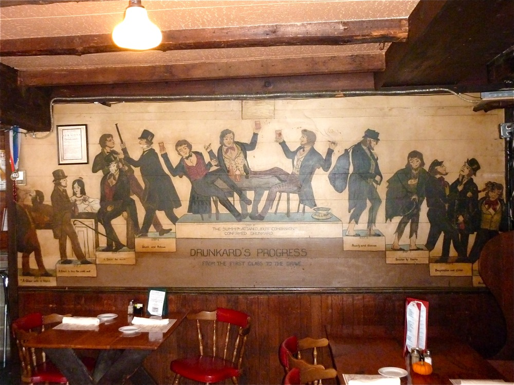 This 1940s Painting At The Bull Run In Shirley M Was Created By