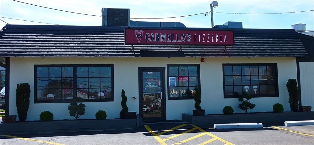 Carmella's Pizzeria in Middletown, R.I.