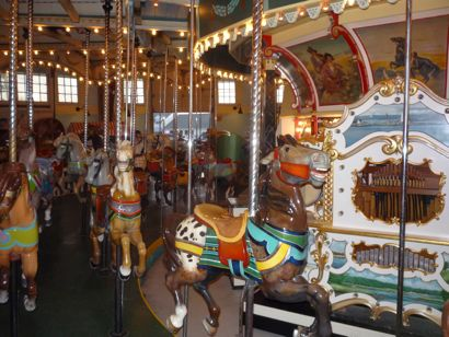 Photo of carousel at Nantasket Beach Hull, MA