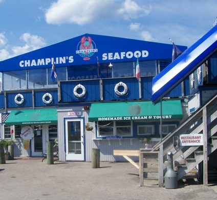 Champlins Seafood Photo, Point Judith, RI