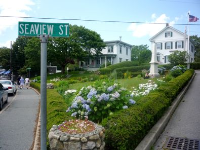Seaview Street, downtown Chatham, MA, photo, Cape Cod