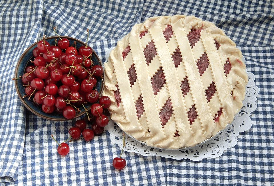 Cherry pie from Ever So Humble Pie Company, Walpole MA