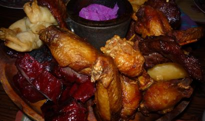 Chinese food -- pu pu platter photo