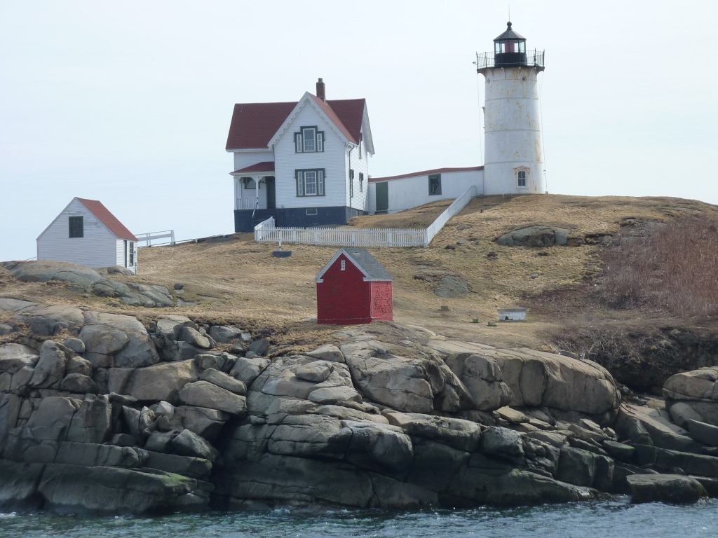 Nubble Lighthouse at Cape Neddick, Maine