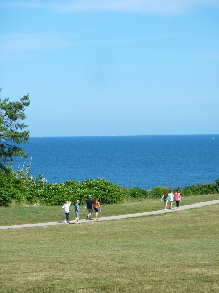 A stroll along The Cliff Walk in Newport, Rhode Island...