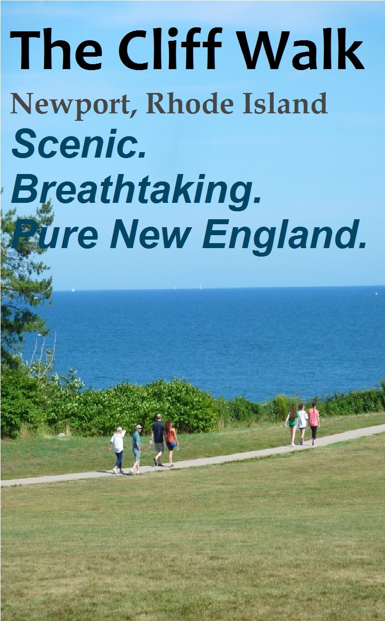 The Cliff Walk in Newport, R.I., is surely one of New England's most spectacular destinations.