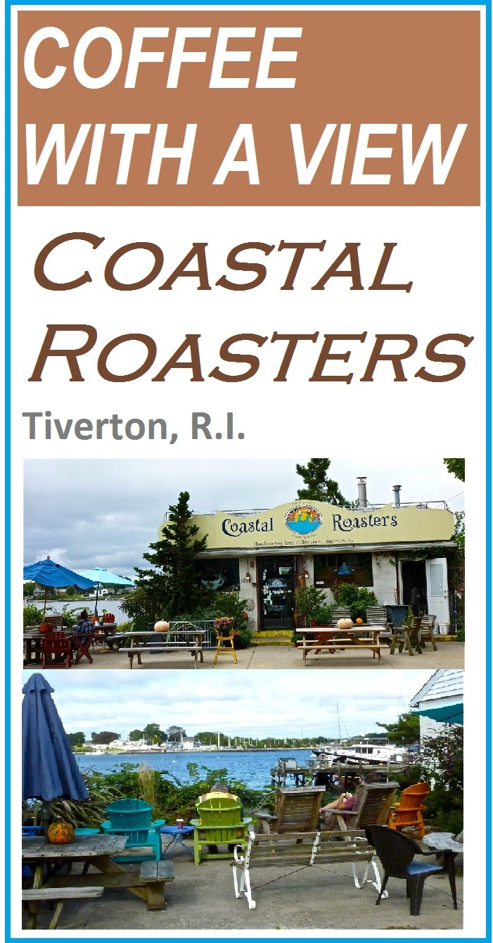 Coastal Roasters features fresh roasted coffee and water views in Tiverton, R.I..