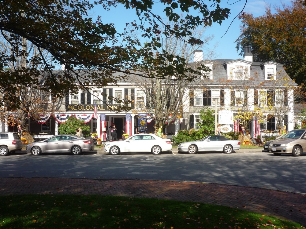 Concord's Colonial Inn is located off historic Monument Square in Concord, Massachusetts