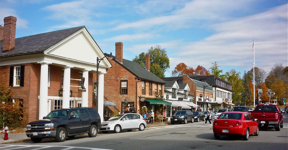 Downtown Concord, Massachusetts