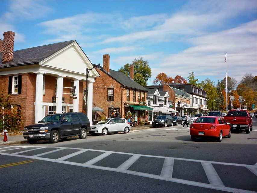 Photo of downtown Concord MA