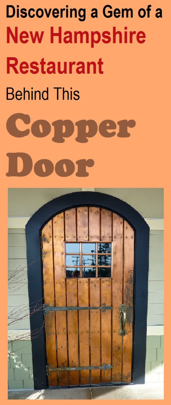 The Copper Door Restaurant in Bedford and Salem, N.H.,offers a wonderful fine dining experience without the stuffiness and a beautiful, spacious restaurant setting.