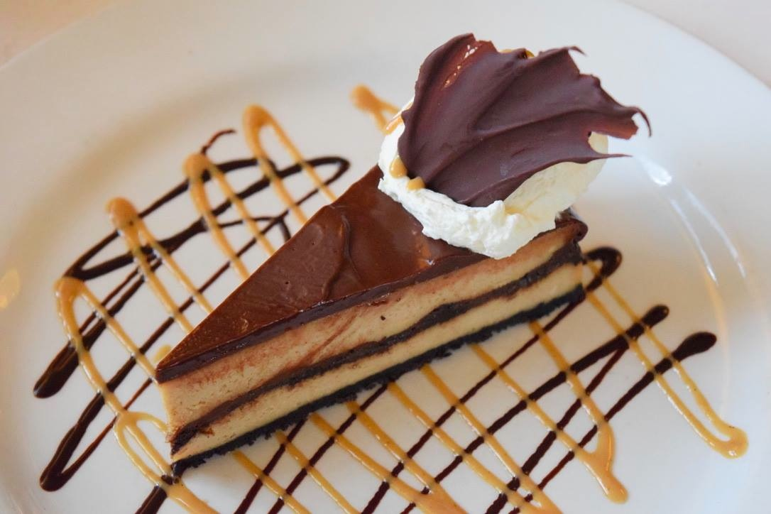 Chocolate peanut butter cheesecake from the Copper Door in Bedford, N.H.