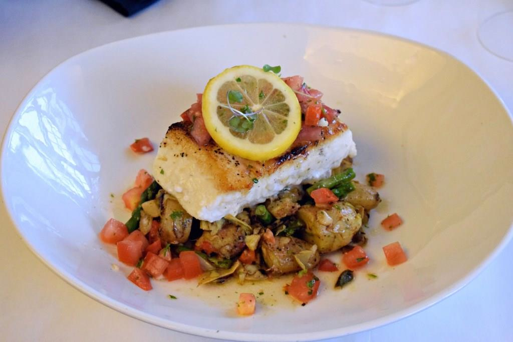 Wood roasted New England haddock from the Copper Door in Bedford, N.H.