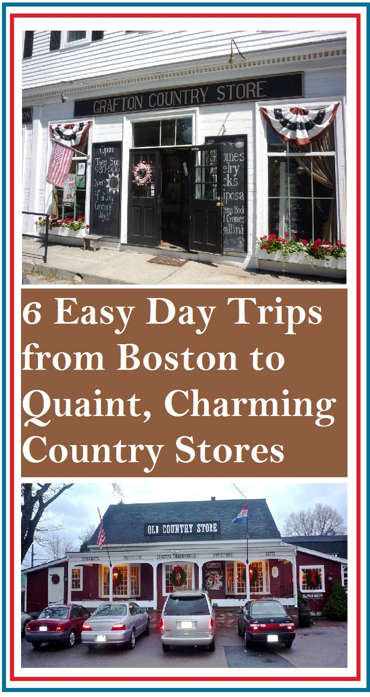On a tankful of gas from Boston: Quaint country stores that will bring you back to another place and time.