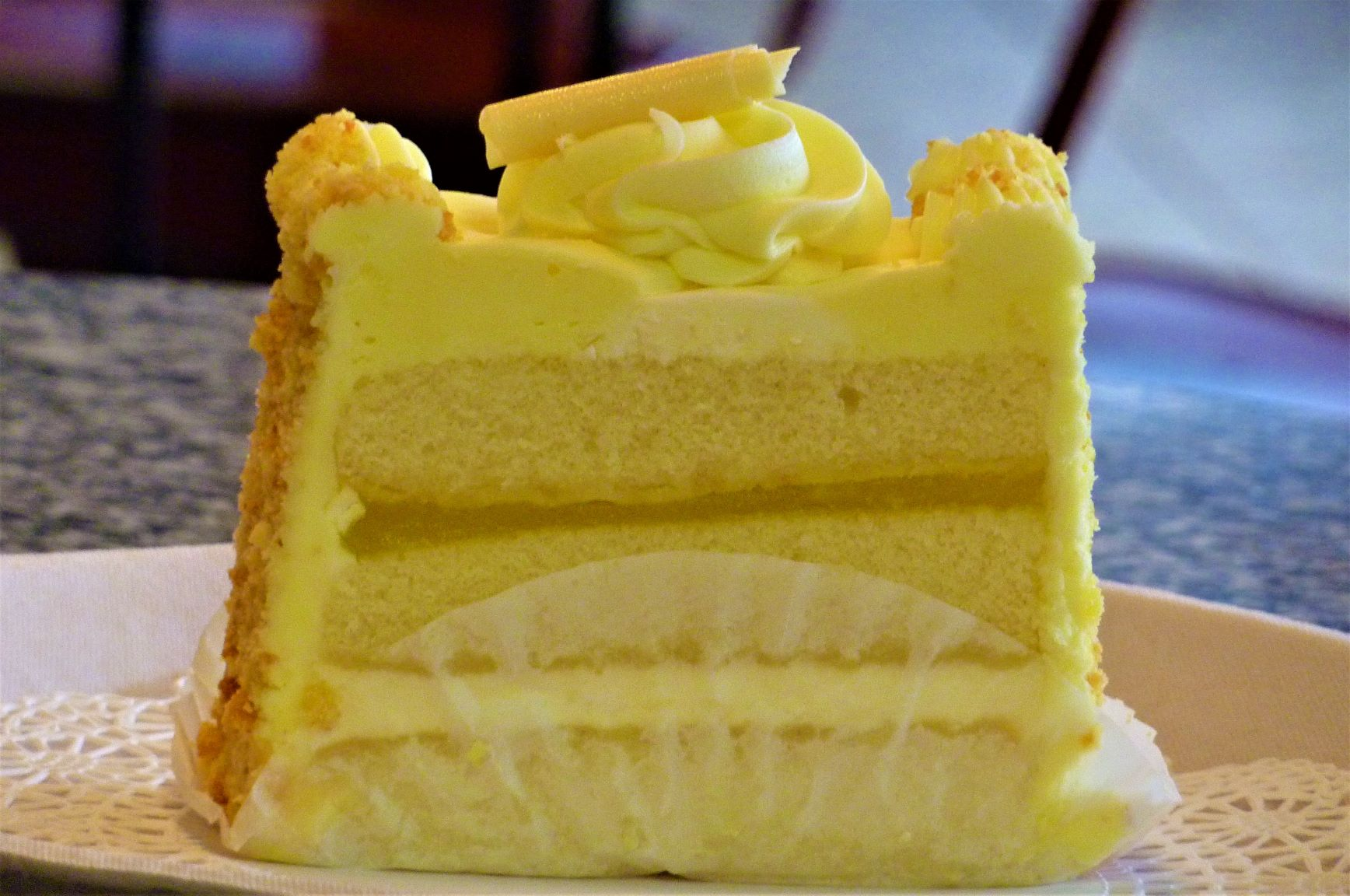 Montilio's lemon cake from CRISPWalpole in Walpole, MA