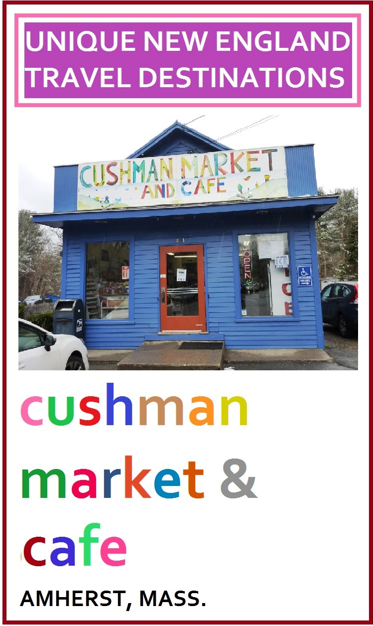 Something feels wonderfully different when approaching Cushman Market and Cafe in Amherst, Massachusetts....