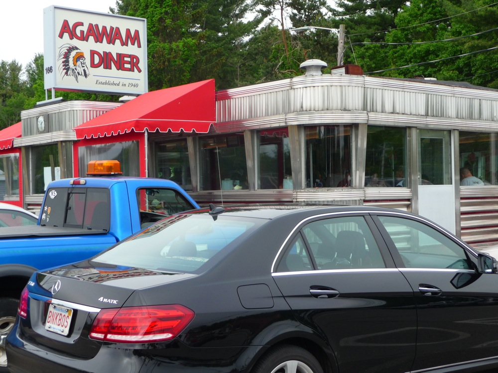 Agawam Diner in Rowley, Mass.