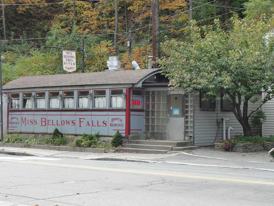 Miss Bellows Falls Diner, Bellows Falls VT.