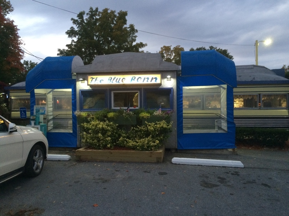 Blue Benn Diner in Bennington VT.