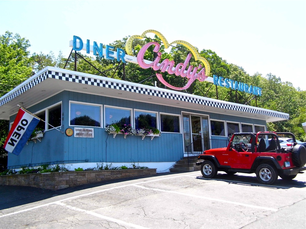 Cindy's Diner in North Scituate, Rhode Island.