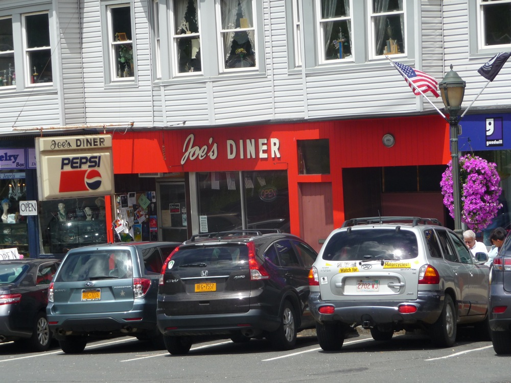 Joe's Diner in Lee, Massachusetts.