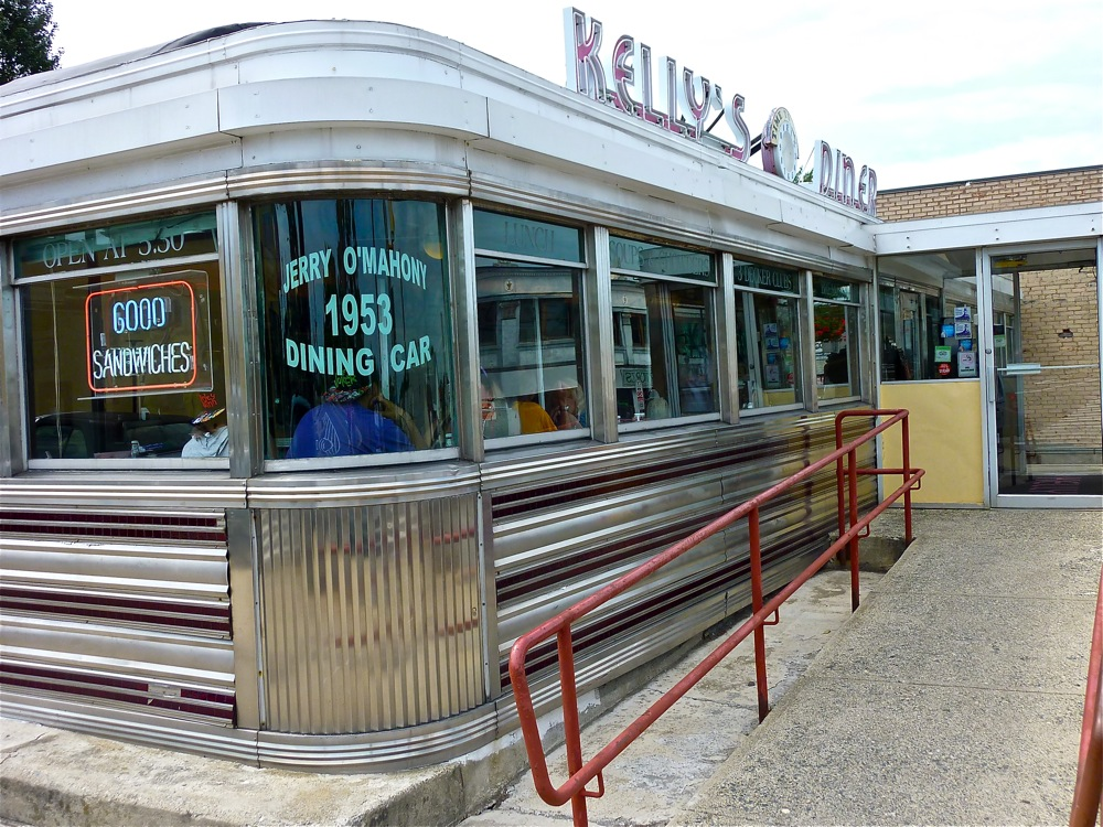 Kelly's Diner in Somerville, Massachusetts.