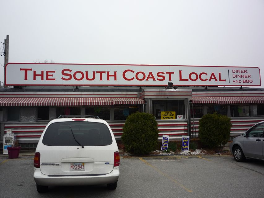 Image of South Coastal Diner, Mattapoisett MA