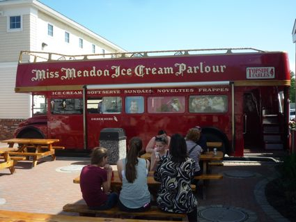 Miss Mendon Diner Ice Cream Bus