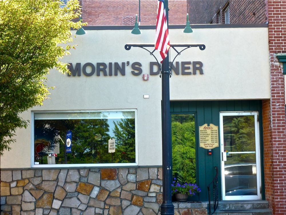 Morin's Diner in Attleboro, Massachusetts.