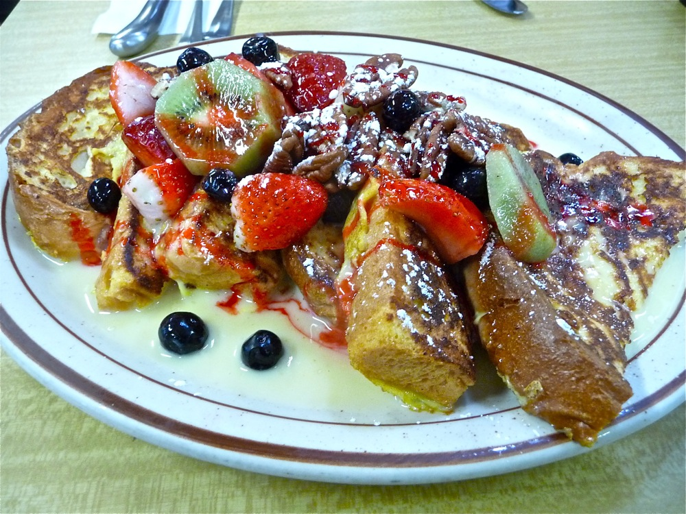 Custard French toast from the Modern Diner in Pawtucket RI.