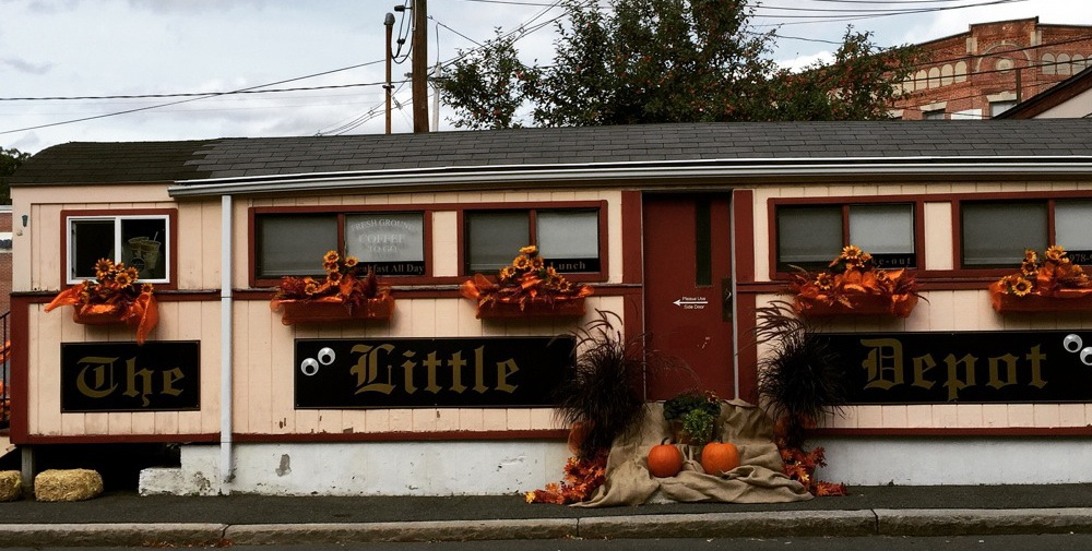 Little Depot Diner in Peabody, Massachusetts