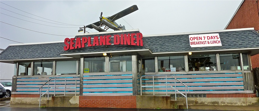 Seaplane Diner in Provide, R.I.