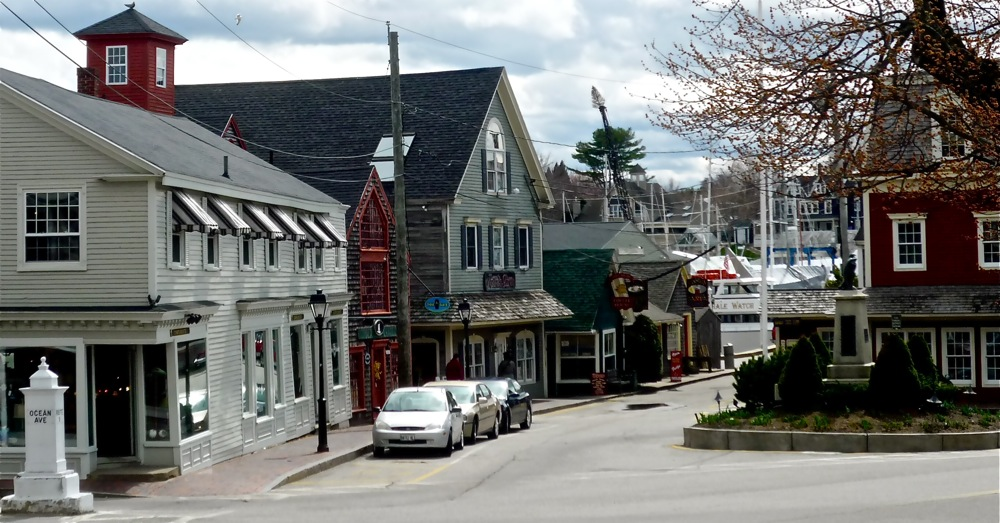 Dock Square in Kenneunkport, Maine