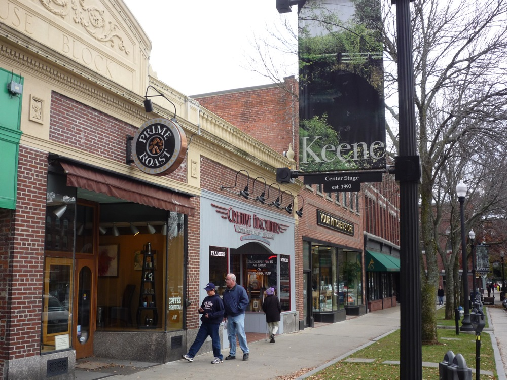 Downtown Keene, New Hampshire