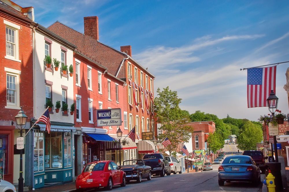 Bath, Maine has one of the more underrated downtown districts in New England.