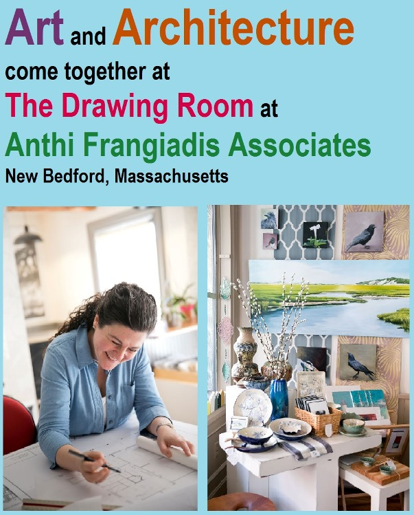 The spirit, vision and myriad art and architectural services that Anthi Frangiadis Associates offers in New Bedford, Mass., paints and constructs a small business picture that owner Anthi Frangiadis can truly call her own under one roof.