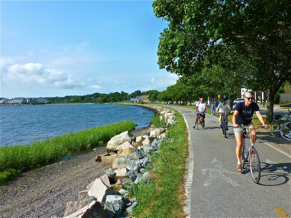Wouldn't you love to ride the East Bay Bike Trail in Rhode Island right now?
