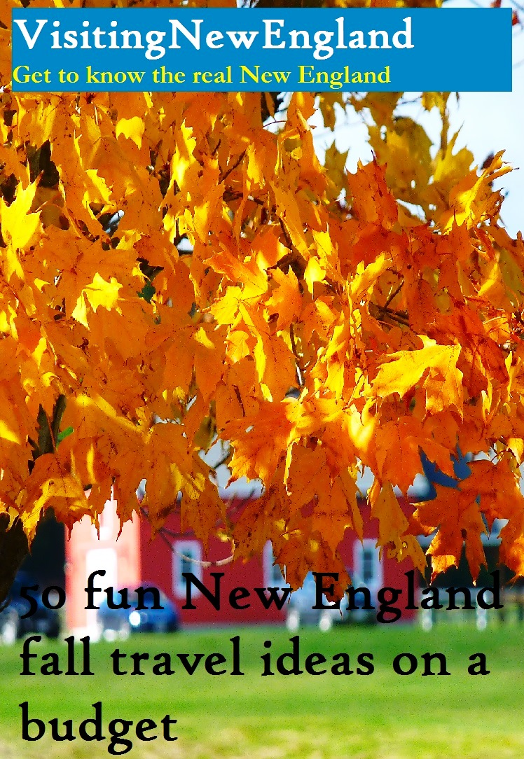 New England fall travel ideas on a budget
