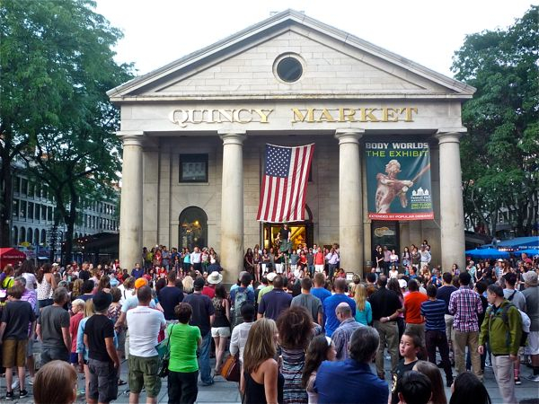Quincy Market, Boston MA