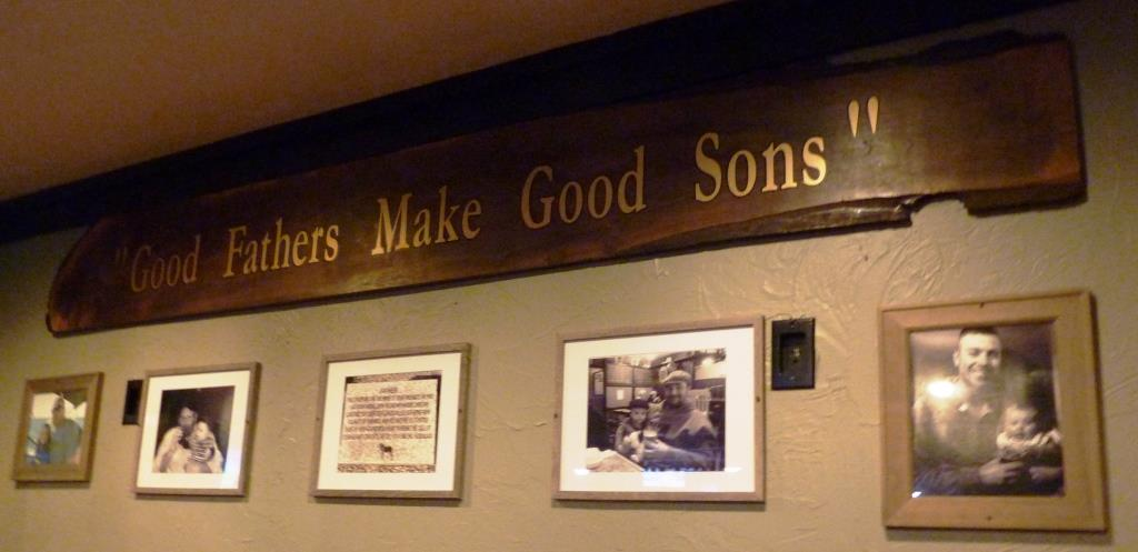 An ode to fathers at Father's Kitchen and Taphouse in Sandwich, Mass.
