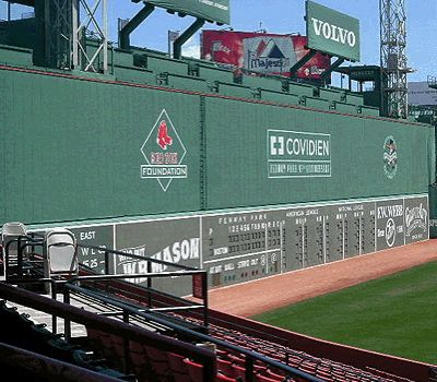 Fenway Park Grren Monster photo