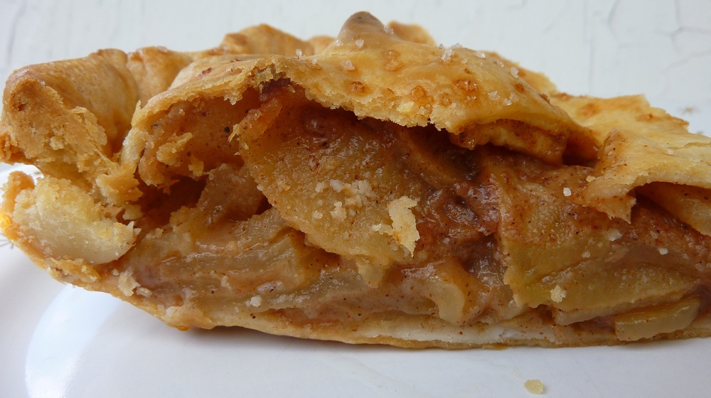 Homemade apple pie from Flaky Crust Pies in Norton, Mass.
