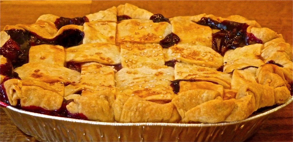 Mixed Berry Pie from Flaky Crust Pies in Norton, Mass.