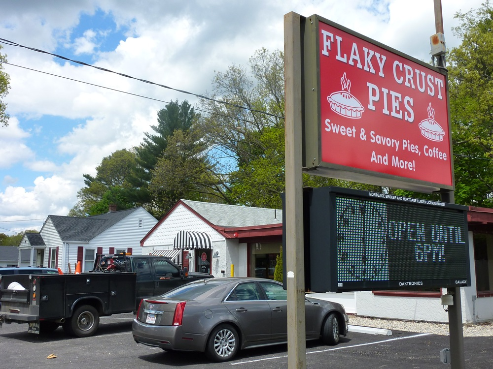 Flaky Crust Pies in Norton, MA.