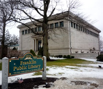 Franklin, MA, Public Library photo