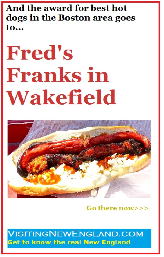 Fred's Frank in Wakefield, Mass., is one of those food trucks I could go to every day. The hot dogs and sausages are amazing.