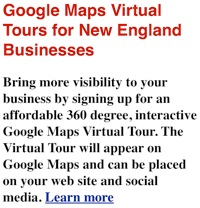 Google Maps Virtual Tours - Street Views New England