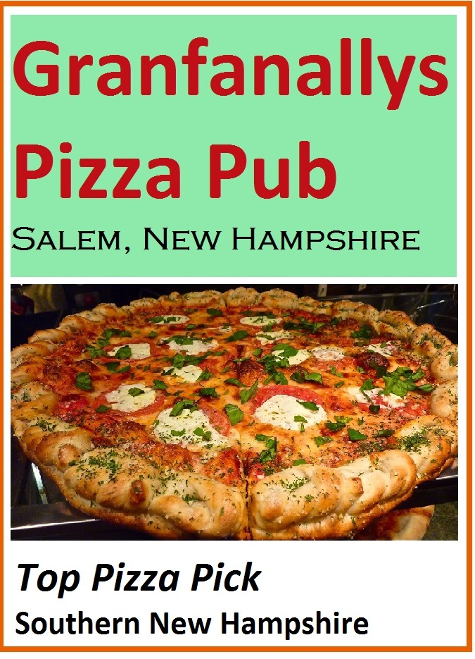 Granfanallys in Salem, N.H., specializes in real New York and Sicilian pizza.