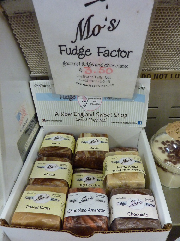 Mo's Fudge Factor is for sale at Hager's Farm Market in Shelburne, Mass.