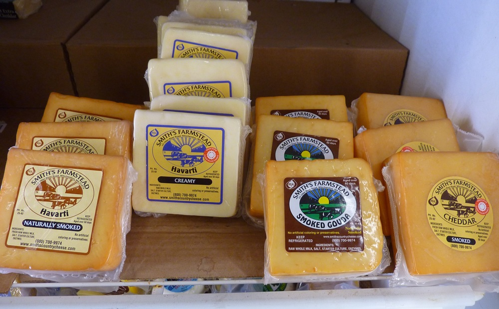 Smith's Cheese at Hager's Farm Market in Shelburne, Mass.